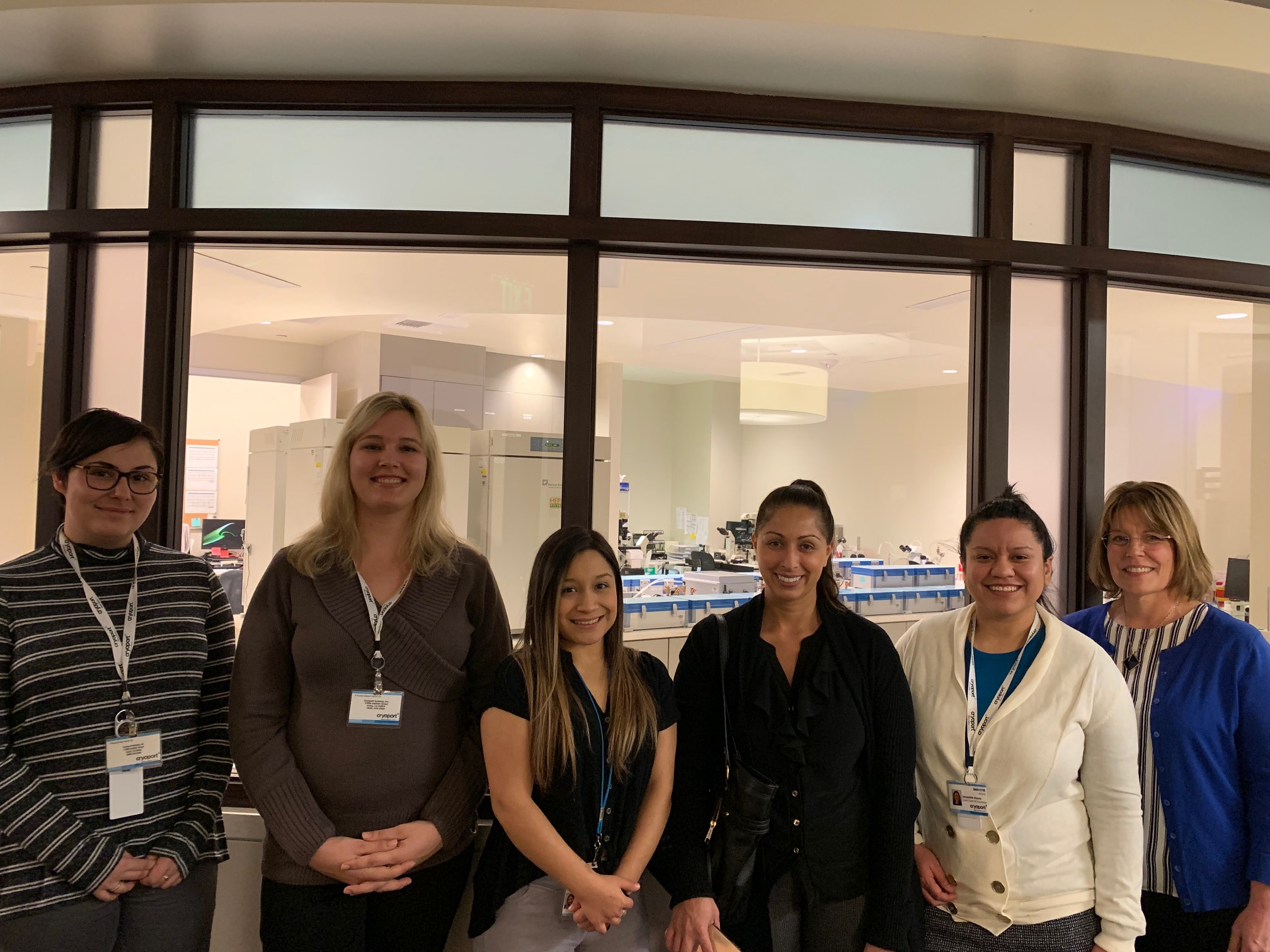 CryoStork® Team Visits HRC Fertility Clinic